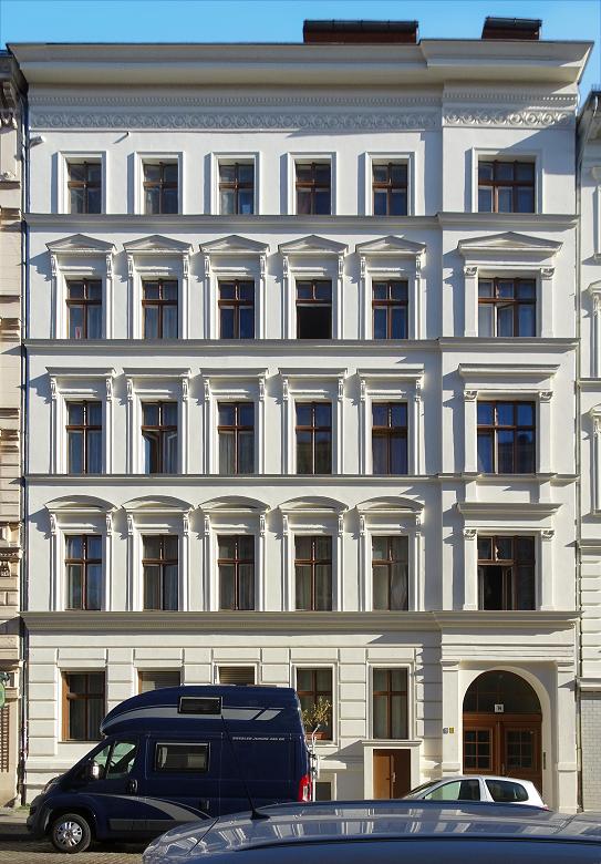 Ein Mehrfamilienhaus, Gründerzeit