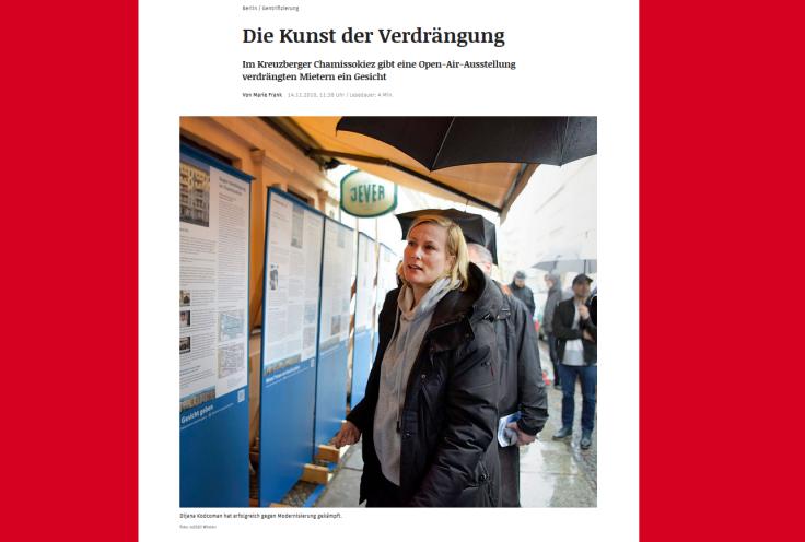 Screenshot eines Artikels im Neuen Deutschland